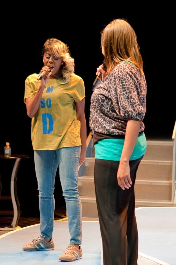 Tanika vs Marilyn singing Crazy in Love
