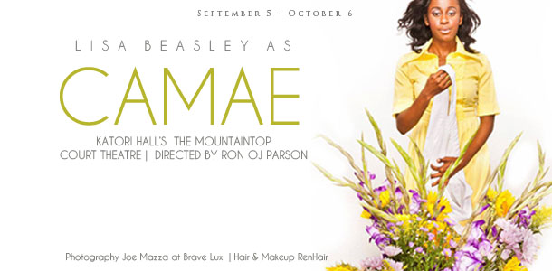 Lisa Beasley as Camae in Katori Hall's The Mountaintop