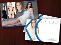 Actor, Model Postcard