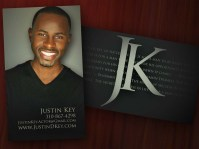 Justin D. Key Business Cards