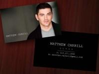 Matthew Carhill Business Cards