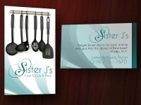 Chef/Caterer Business Cards