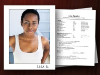Headshot and Resume