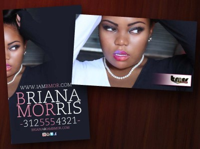 Briana Morris Business Card