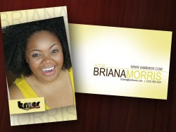 Briana Morris Business Cards