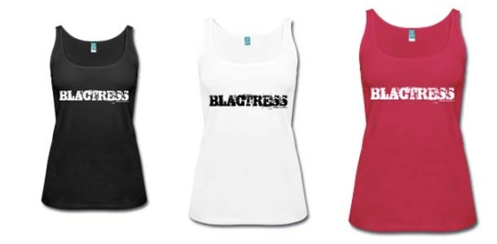 Blactress Tank Now Available Banner