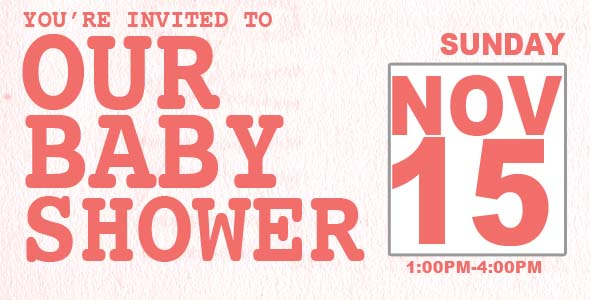 BABY SHOWER HEADER