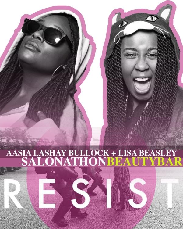 Aasia LaShay Bullock and Lisa Beasley